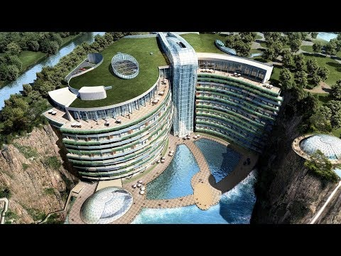 The World's First Underground Hotel InterContinental Shangha