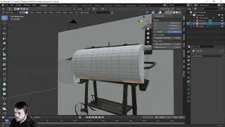 3d modeling a bbq smoker to 3d print PART 1 of 2