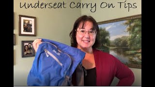 What to pack in your underseat carry on
