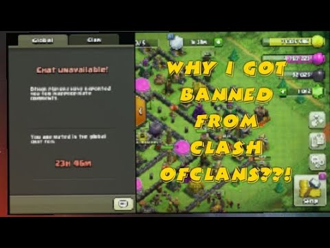 I got banned ||CLASH OF CLANS CHAT HACK ||2018