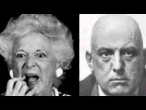 Pauline Pierce, Barbara Bush and Aleister Crowley