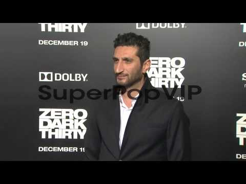 Fares Fares at Zero Dark Thirty Los Angeles Premiere on12...