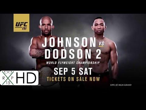 UFC 191 Promo | Johnson vs Dodson 2