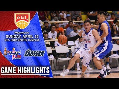 HIGHLIGHTS: Alab Pilipinas vs. Hong Kong Eastern (VIDEO) SEMIS Game 2 | April 15