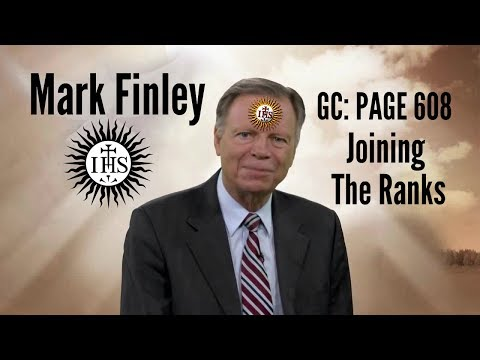 Mark Finley Joining The Ranks