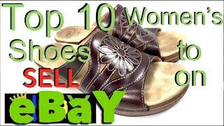 Selling Shoes on eBay. TOP 10 BRANDS Women