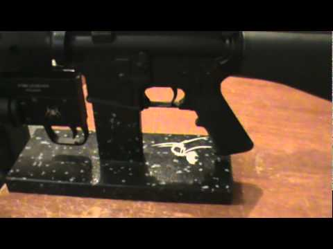 Spikes Tactical Ar 15 Gunsmith Mag Well Block And Stand Review Youtube