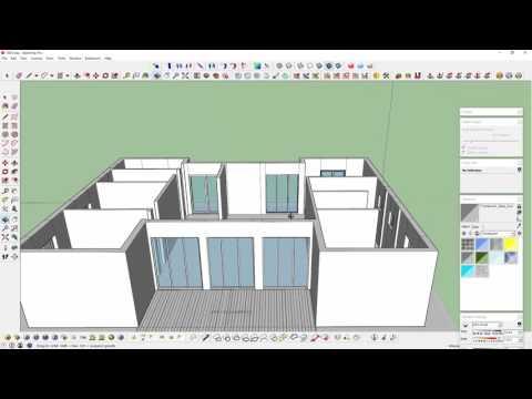 Sketchup Kat Planı Modelleme 48