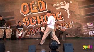 Popping 社會組 Semifinal 2 Nick vs Crazy Kidd | 20140531 Old School Love Vol.2