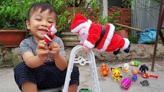 Trò Chơi Bé Vui Santa Claus ❤ ChiChi ToysReview TV ❤ Đồ Chơi Trẻ Em Baby Doli Bài Hát Vần Thơ
