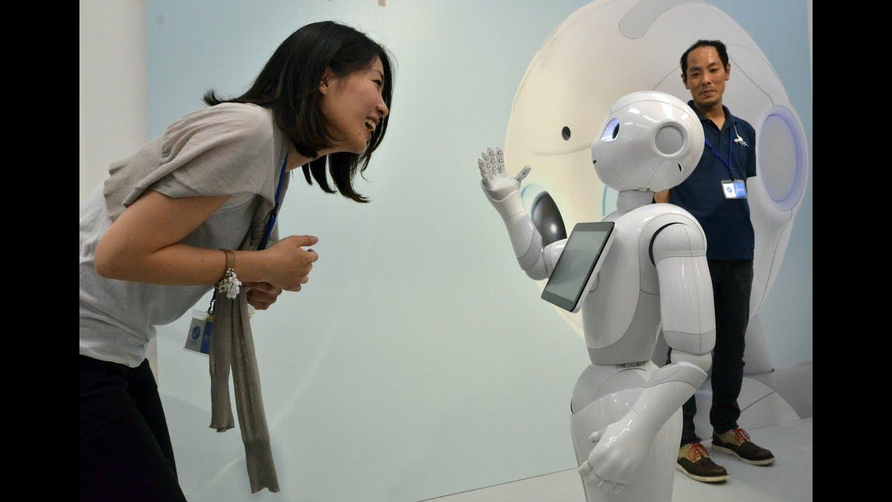 Image result for Pepper the 'emotional' robot visits the FT
