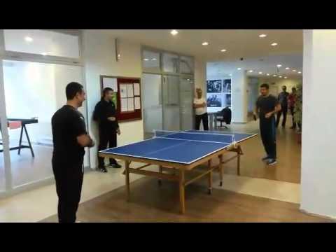 Samsun TAKEV Öğretmenler Masa Tenisi Turnuvası