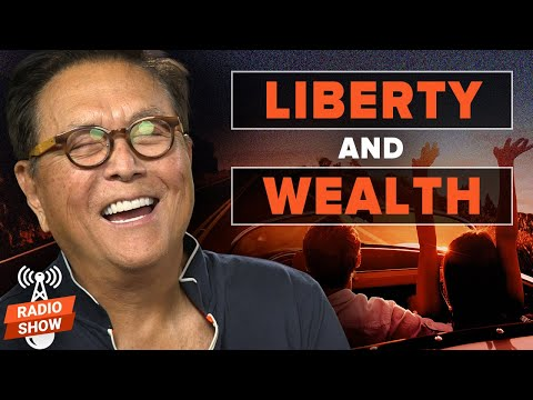 Fighting for Liberty and Wealth - CEO of PragerU, Marissa Streit, and Robert Kiyosaki with Prager U