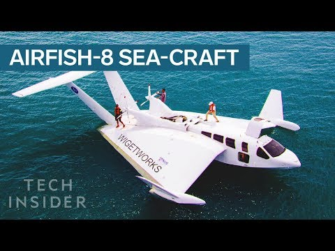 This Sea-Craft Looks Like A Plane, Has A Car's Engine, And D