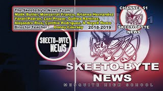 Skeeto-Byte News: (Y6 Episode 110) Live School Announcements 2/15/2019