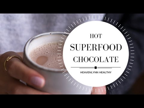 Hot Superfood Chocolate | Heavenlynn Healthy