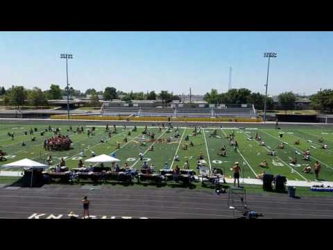 Pacific Crest Drum and Bugle Corps rehearsing.