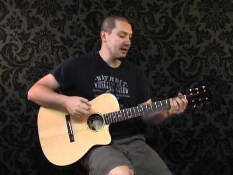 Guitar Lesson: Angel from Montgomery - YouTube