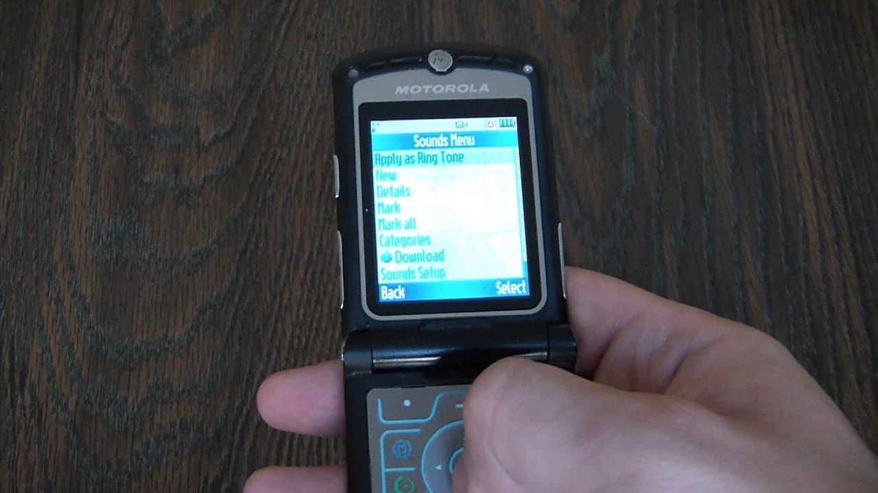 Motorola razr v3 драйвер скачать