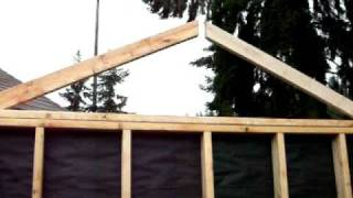 How To Build A Shed Step 27 Construction Woodworking Diy Backyard Home Improvement With Music
