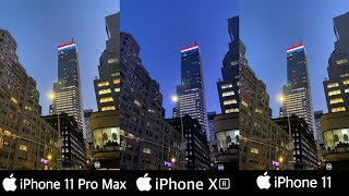 iPhone 11 Pro Max vs iPhone XR vs iPhone 11| Camera Test