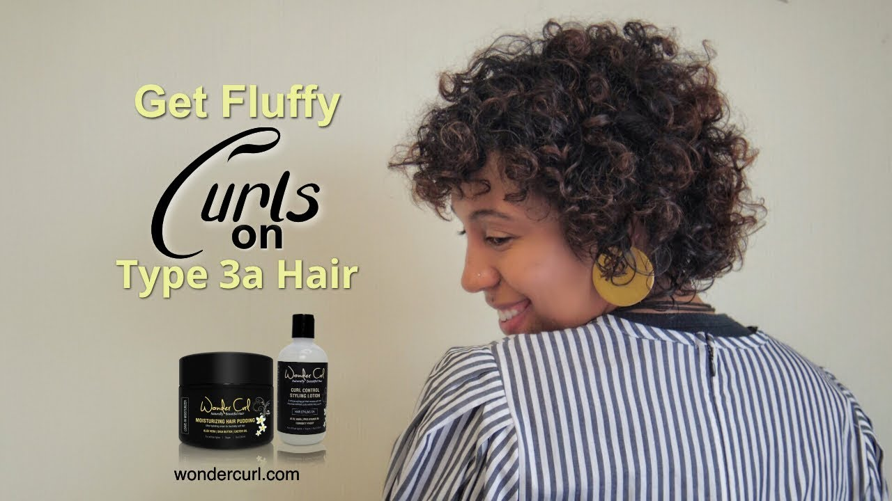 Styling Type 3a Curls The Best Techniques And Products Wonder Curl