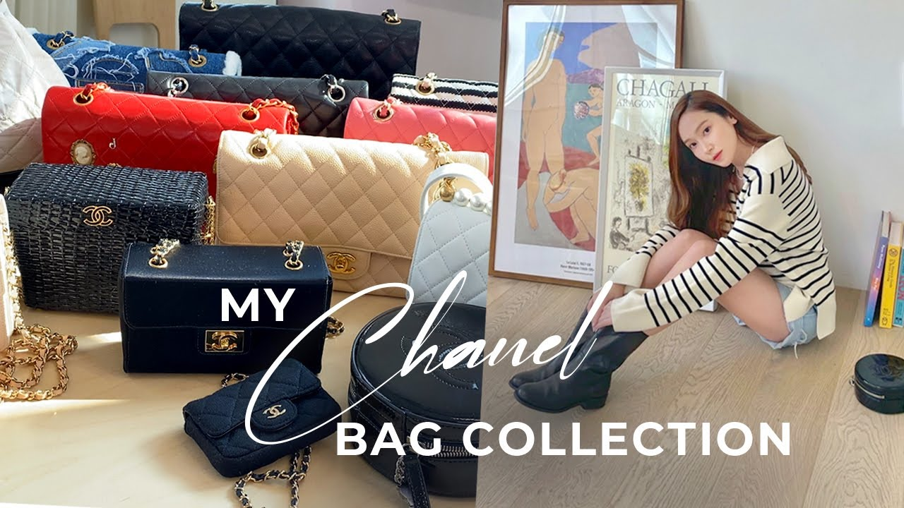 Chanel Bags I Collected Over The Years👜🖤