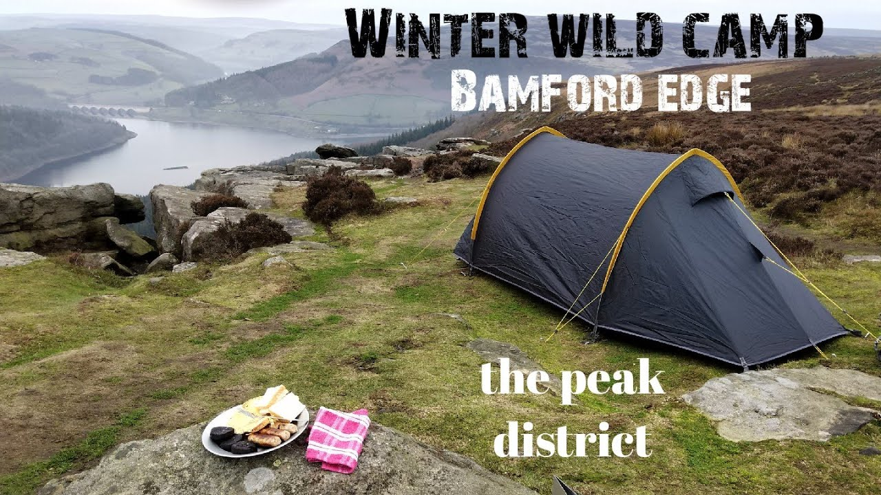 Wild Camping Peak District >> Solo Winter Wild Camping Bamford Edge The Peak District Below Freezing Camping