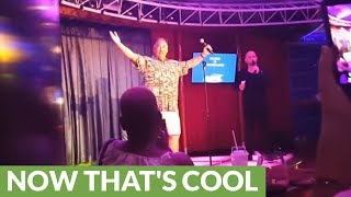 Incredible 'Journey' cover wins vacationer cruise ship karaoke contest