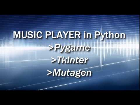 Music Player in Python - Part 1