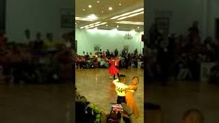 Dance sport palarong Pambansa 2018 region 7 (Joseph and Darlene)