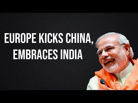 Europe dumps China for India