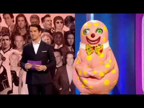 Mr Blobby on The Big Fat Quiz of the 90s