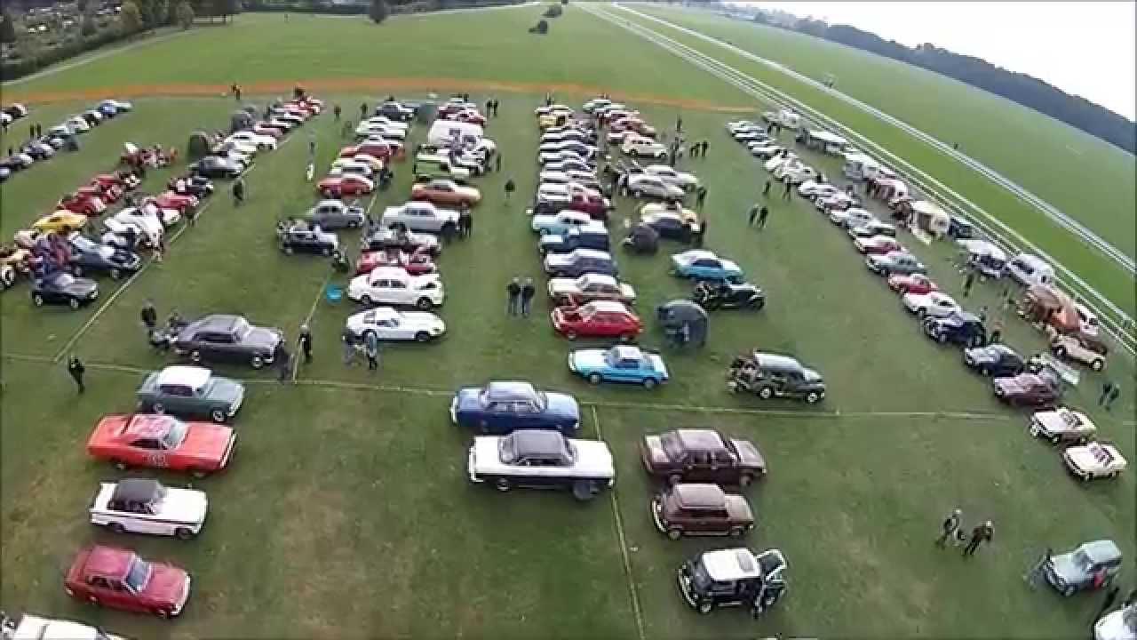 YHVG York Racecourse Classic Car Show YouTube - Classic car show york