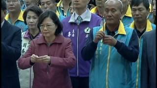蔡英文總統新春車城福安宮參拜發紅包