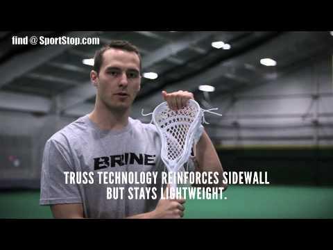 New Brine Cyber X Defensive Lacrosse Head - Brand Video - SportStop.com