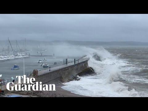 Storm Alex wreaks havoc across Italy, France and UK