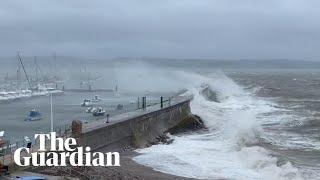 Storm Alex wreaks havoc across Italy France and UK