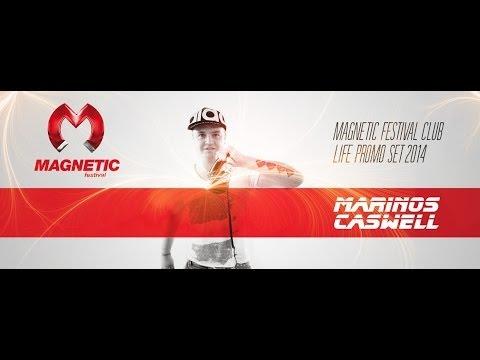 DJ Marinos Caswell @ Magnetic festival Club Life 2014