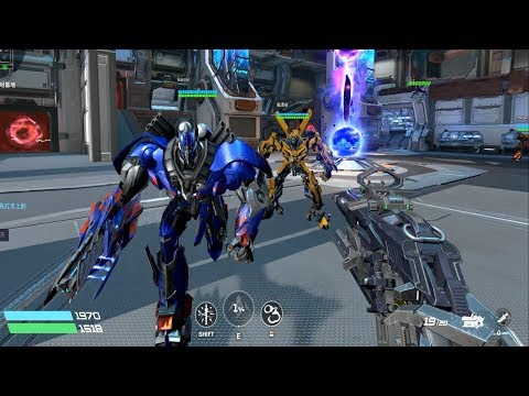 TRANSFORMERS Online 变形金刚 - Barricade Vs Optimus Prime And Bumblebee The Last Knight PVE Gameplay