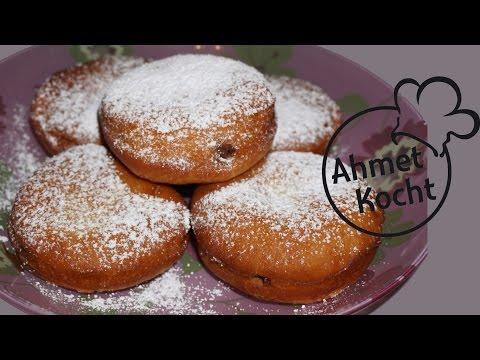 Rezept: Berliner mit Nutella - AhmetKocht - Folge 170
