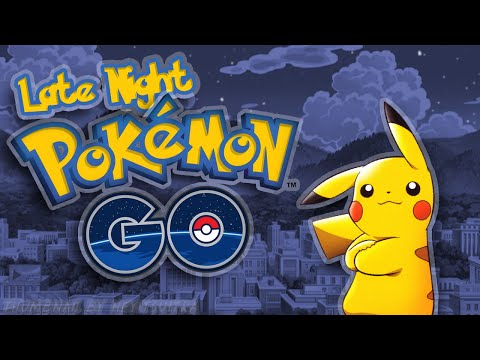 Late Night Pokemon Go Stream - Balboa Park