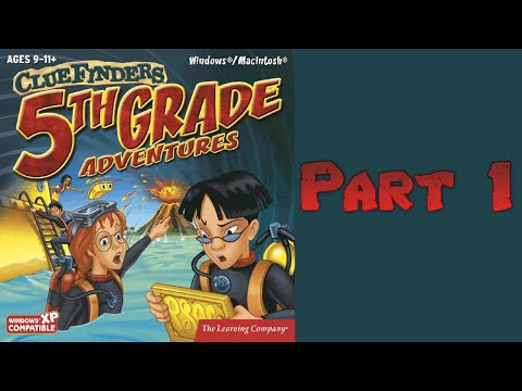 Whoa, I Remember: The ClueFinders 5th Grade Adventures: Part 1