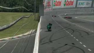 LFS NASCAR and Oval Crash Compilation