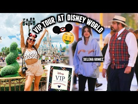 I Went On The VIP TOUR AT DISNEY WORLD With Back Entrances And No Lines