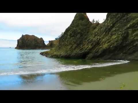 Secret Beach in Southern Oregon