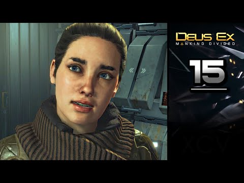 DEUS EX: Mankind Divided Gameplay Walkthrough Part 15 · Mission: The Rucker Extraction