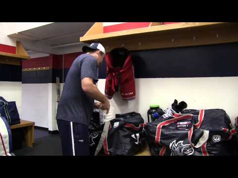 Day In The Life of a Hartford Wolf Pack Equipment Manager AHL