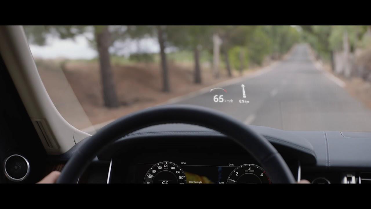 Range Rover Evoke >> 2018 Range Rover | Head-Up Display | Land Rover USA - YouTube