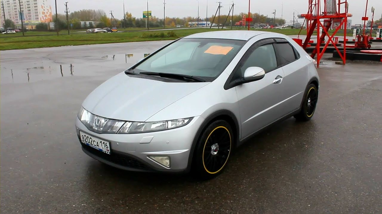 honda civic 8 обзор